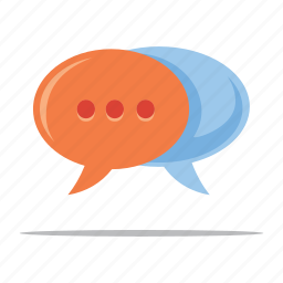 chat, customer service, customer support, speech bubbles icon