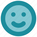emoji, happy, social media icon