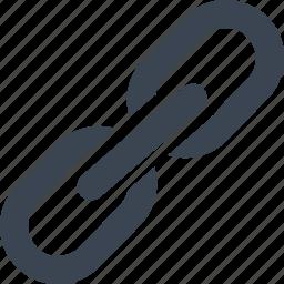 add link, chain, social media, url icon
