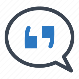 quotation mark, social media, status icon