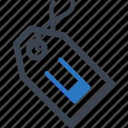 label, tag friend icon
