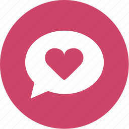 chat, dating, fvorite, heart, like, love icon