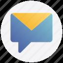 email, envelope, letter, message, social media