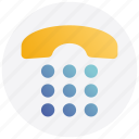 receiver, call, telephone icon