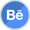 behance, design, media, share, social, web icon