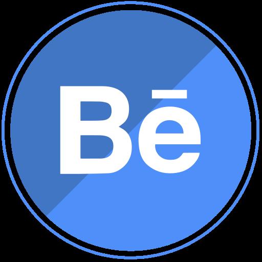 behance, design, media, share, social, web icon