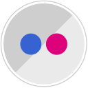 flickr, media, network, sharing icon