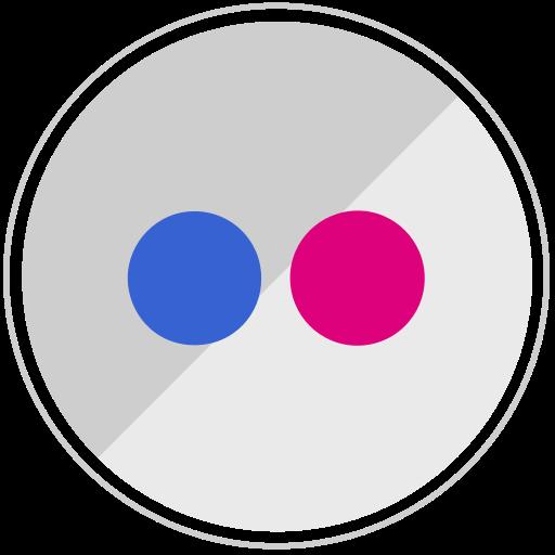flickr, media, network, sharing icon