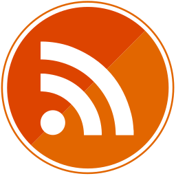 orange, rss, share, social icon