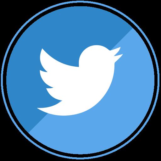 blue, social, tweet, twitter icon