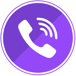 call, calls, communication, mobile, phone, viber icon