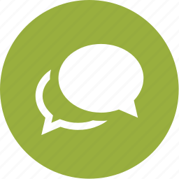 bubbles, chat, communication, conversation, group, message icon