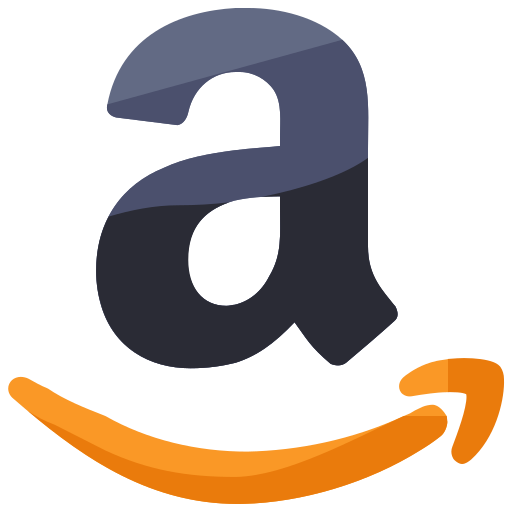 amazon, communication, media, network, online, shopping, social icon