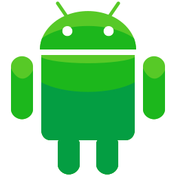 android, interface, logo icon