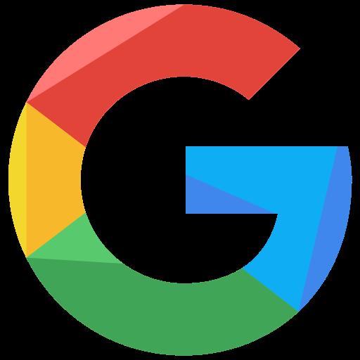 google, logo, network, social icon