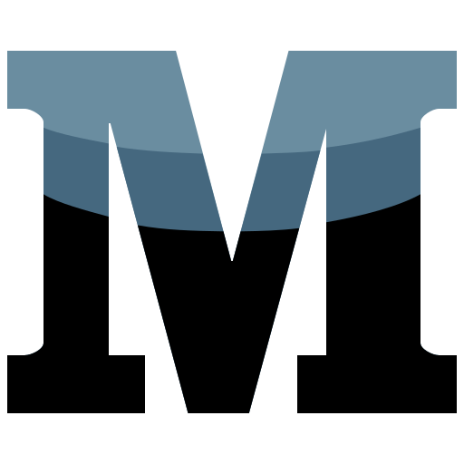 M, media, social icon - Free download on Iconfinder