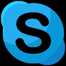 logo, media, skype, social icon