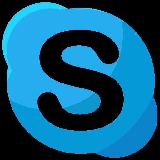 communication, media, network, online, skype, social icon