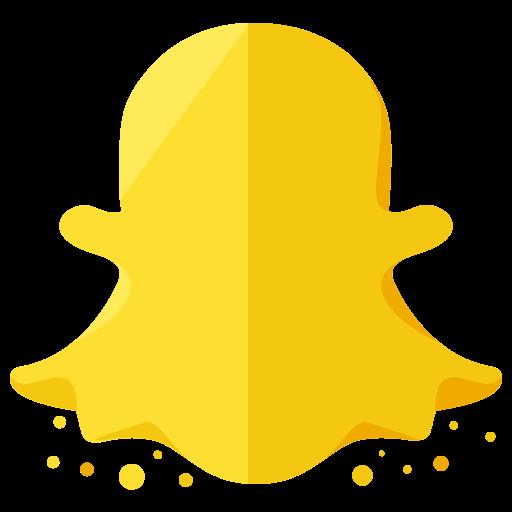 communication, logo, media, network, online, snapchat, social icon