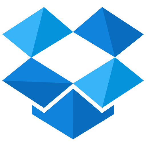dropbox, media, network, online, social, storage icon