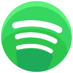 communication, media, network, online, social, spotify, streaming icon