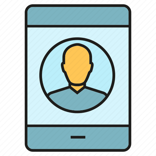 call, communicate, contact, mobile, people, phone icon