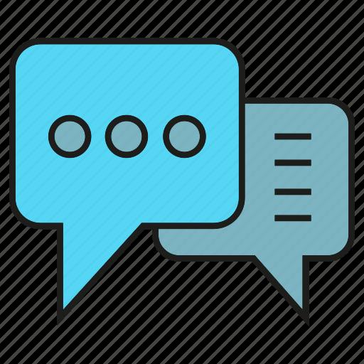 chat, communication, speech bubble, talking icon
