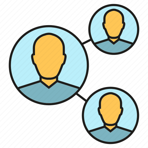 communication, connection, link, network, people, social media, social network icon