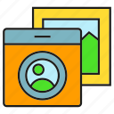album, camera, gallery, picture icon