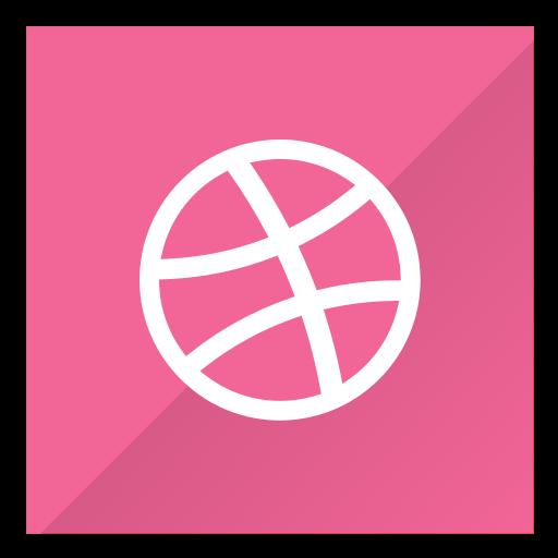 blog, dribbble, post, share icon