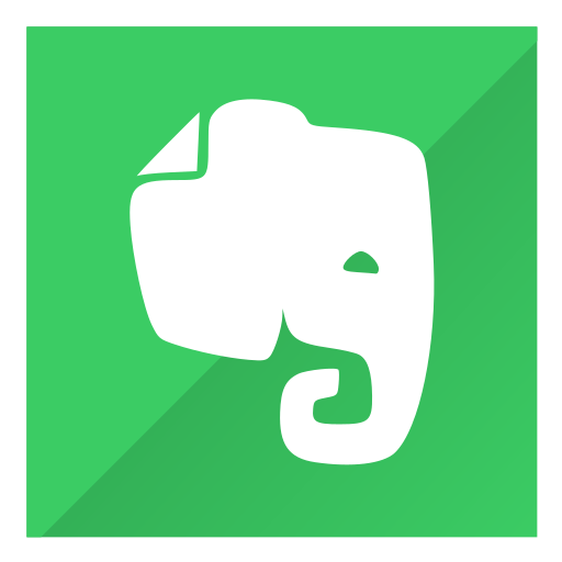 evernote, note, post, save icon