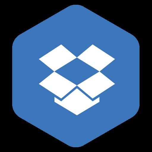 box, drop, dropbox, logo icon