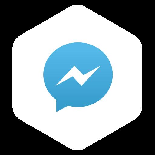 logo, media, messenger, network, social icon