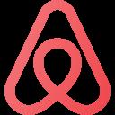airbnb, logo, media, social