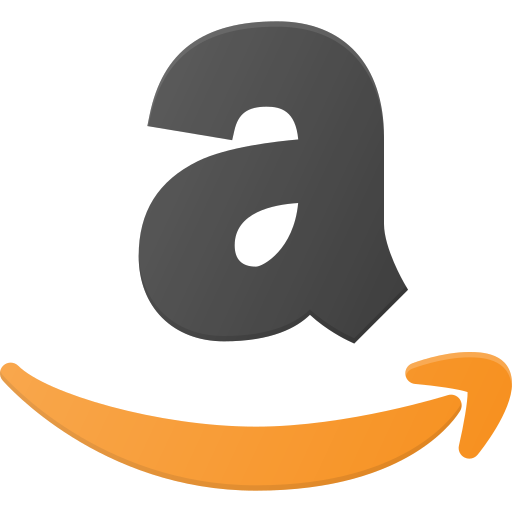 amazon, logo, media, social icon