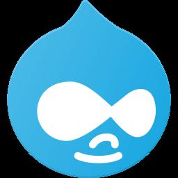 drupal, logo, media, social icon