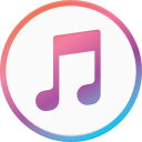 itunes, logo, media, social icon
