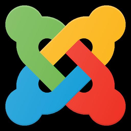 joomla, logo, media, social icon