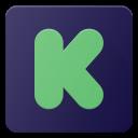 kickstarter, logo, media, social icon