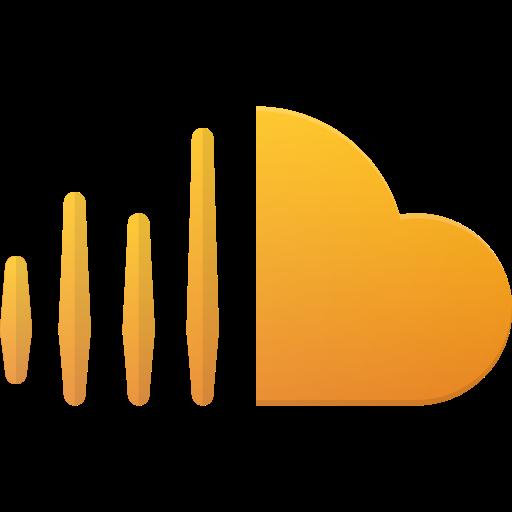 cloud, logo, media, social, sound icon