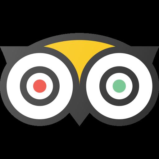 logo, media, social, tripadvisor icon