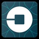 logo, media, social, uber icon