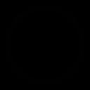 pintrest, corporate, creative, design, modern, network, online icon