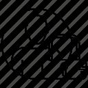 avatar, lock, man, safe, secure icon