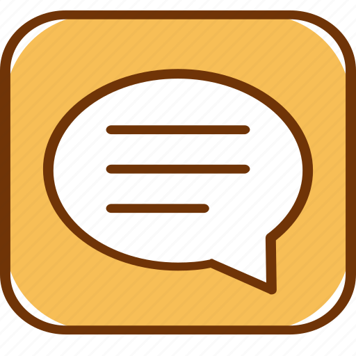 chat, comment, communication, conversation, message, speech, talk icon