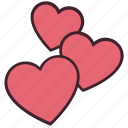 heart, like, love, relationships, romance, romantic, valentines icon