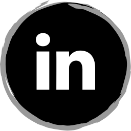 linkedin, logo, media, social icon