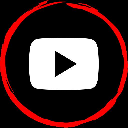 logo, media, player, social, video icon