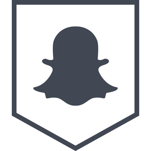logo, media, snapchat, social icon