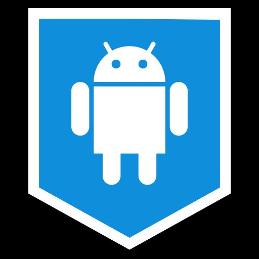 android, logo, media, social icon